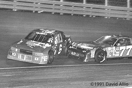 Lonesome Pine Intl Raceway 1991 Danny Shortt Tommy Hilbert