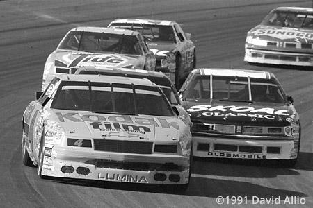 Phoenix Intl Raceway 1991 Ernie Irvan Brett Bodine