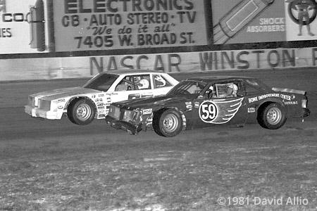 South Sound Speedway 1981 Gene Glover Geoff Bodine