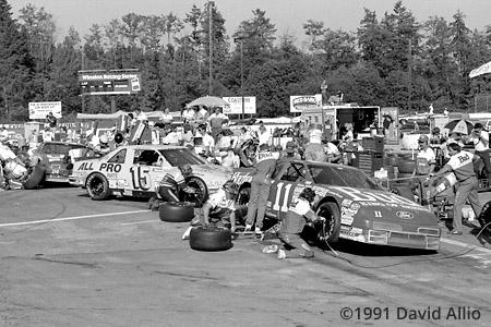 Evergreen Speedway 1991 Geoff Bodine