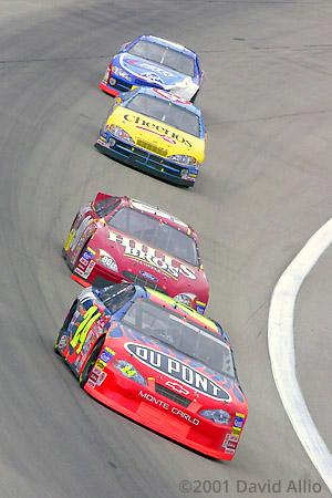 Texas Motor Speedway 2001 Jeff Gordon Hut Stricklin