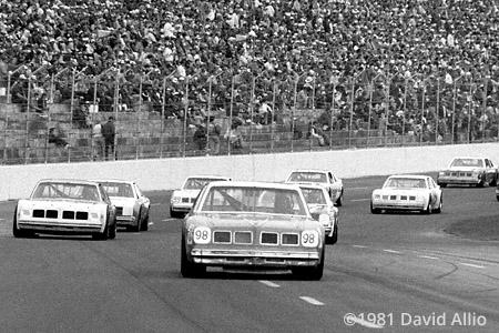 Charlotte Motor Speedway 1981 Jody Ridley
