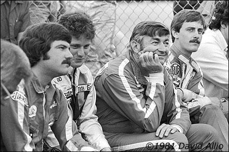 Nashville Fairgrounds Speedway 1981 Terry Labonte Ricky Rudd