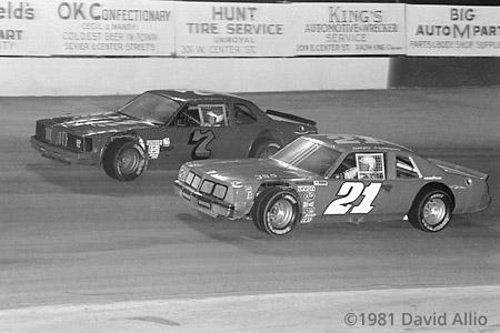 Kingsport Intl Speedway 1981 David Pearson Morgan Shepherd
