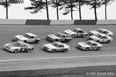 Atlanta Intl Raceway 1981 David Pearson Cale Yarborough