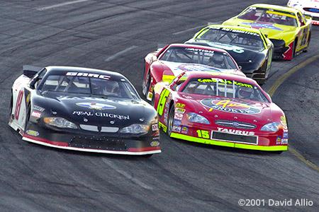 Peach State Speedway 2001 Dwayne Buggay Ronnie Sanders