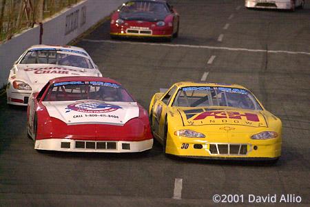 Hickory Motor Speedway 2001 Stephen Leicht Scott Kilby