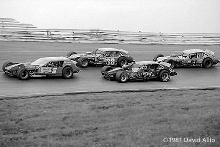 Holland Speedway 1981 Ron Williams Tommy Drvar