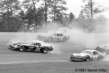 Five Flags Speedway 1981 Billy McGinnis Jack Ingram