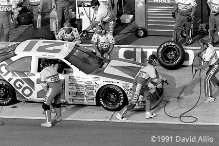 Atlanta Intl Raceway 1991 Dale Jarrett