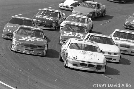 Mesa Marin Raceway 1991 Butch Gilliland Gary Collins