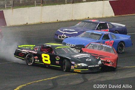 Hickory Motor Speedway 2001 Jamie Yelton Chris Phipps