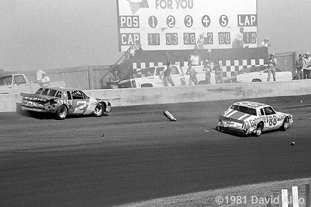 North Wilkesboro Speedway 1981 Joe Ruttman Ricky Rudd