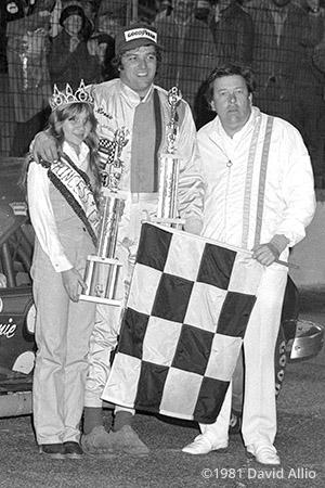 New Smyrna Speedway 1981 Ron Bouchard Dick Brooks