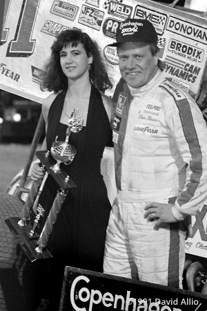 Yuma Speedway 1991 Steve Kinser