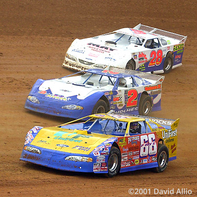 Bristol Motor Speedway 2001 Bill Frye Stacy Holmes