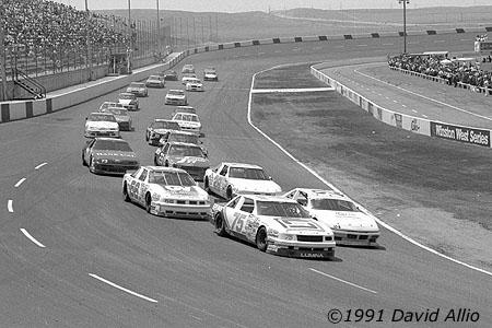Mesa Marin Raceway 1991 Bill Sedgewick Butch Gilliland
