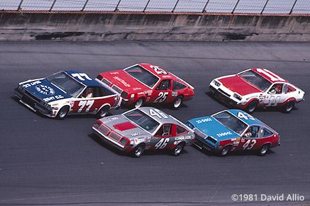 Daytona Intl Speedway 1981 Dean Combs Larry Hoopaugh