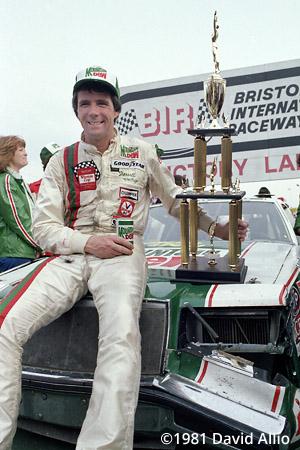 Bristol Intl Raceway 1981 Darrell Waltrip