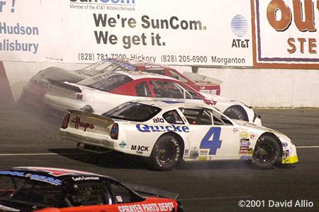 Hickory Motor Speedway 2001 Jimmy Hailey Jr Preston Blalock