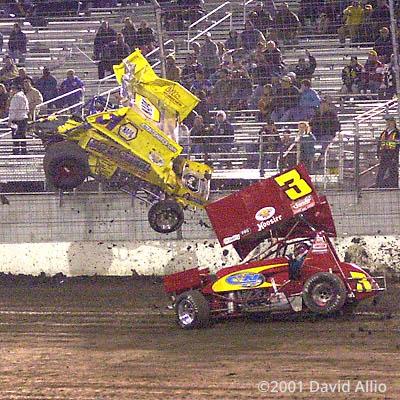Texas Dirt Track 2001 Matt Clevenger Mike Goodman