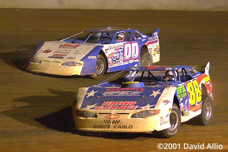 Cherokee Speedway 2001 Petey Ivey Freddy Smith