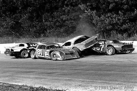 Mount Clemens Race Track 1981 Rod Carlone Harold Fair