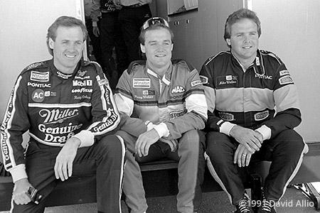 Phoenix Intl Raceway 1991 Rusty Wallace Kenny Wallace