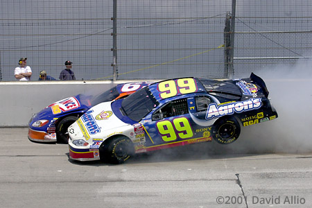 Texas Motor Speedway 2001 Shane Hall Shawna Robinson