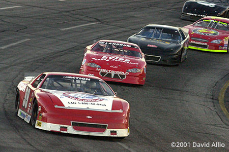 Peach State Speedway 2001 Stephen Leicht Rodney Landrum