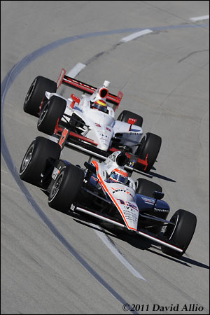 Kentucky Speedway 2011 Will Power Graham Rahal
