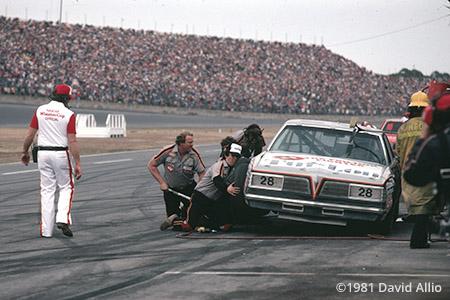 Daytona Intl Speedway 1981 Bobby Allison