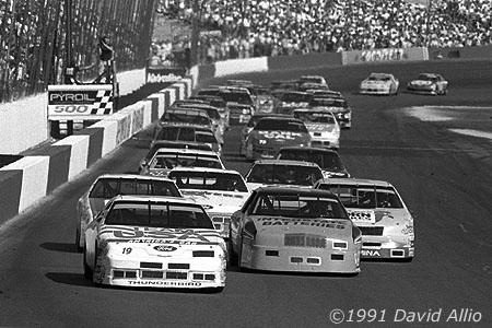 Phoenix Intl Raceway 1991 Chad Little