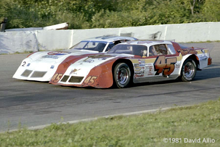 Mount Clemens Race Track 1981 Dick Barker Mark Martin