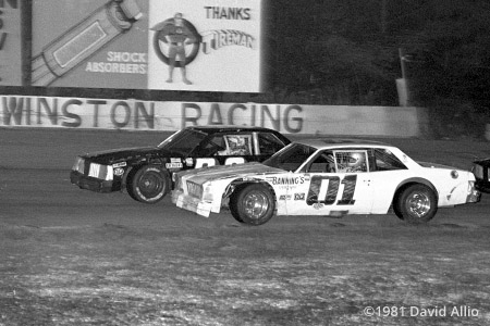 Southside Speedway 1981 Dickie Boswell Jimmy Hensley