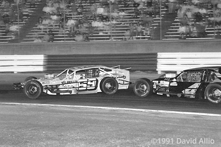Bowman Gray Stadium 1991 Junior Miller Gary Myers