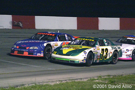 Jennerstown Speedway 2001 Jeff Agnew Brian Vickers