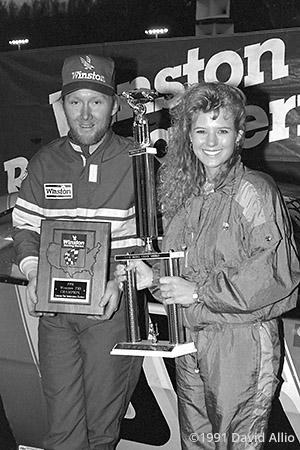 Lonesome Pine Intl Raceway 1991 Jeff Agnew Lisa Baker
