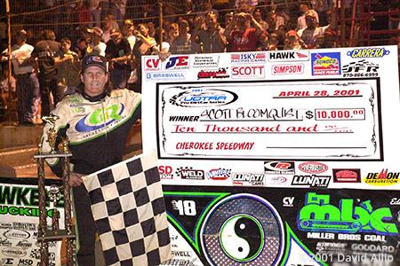 Cherokee Speedway 2001 Scott Bloomquist