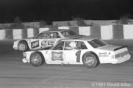 Asheville Motor Speedway 1981 Tommy Houston Pete Silva