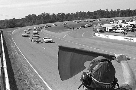 Five Flags Speedway 1991 Dan Spence Jamie Prell