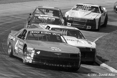 Martinsville Speedway 1991 Dennis Setzer Hermie Sadler