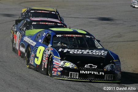 Greenville Pickens Speedway 2011 Chase Elliott Max Gresham