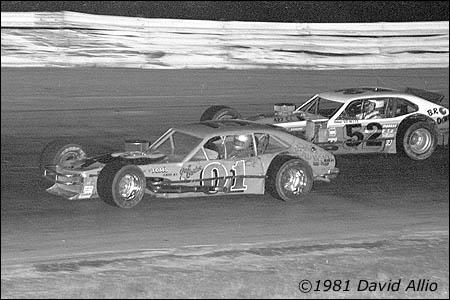 Holland Speedway 1981 Gail Barber Doug Hewitt