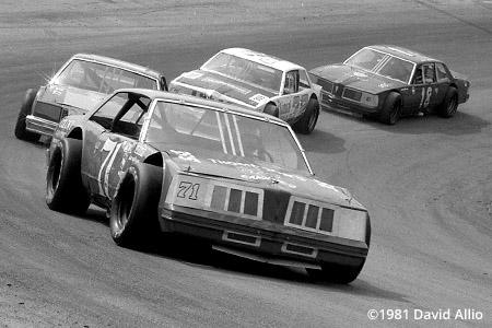 Kingsport Intl Speedway 1981 Gene Glover Gary Niece