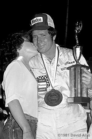 Hickory Speedway 1981 Sam Ard Debbie Cooke