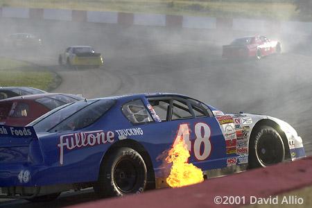 Jennerstown Speedway 2001 Sam Fullone