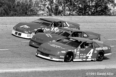 Five Flags Speedway 1991 Bobby Gill Jack Cook