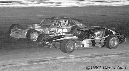 Holland Speedway 1981 Greg Hiemenz Jerry Cook