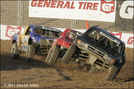 The Off Road Track at LVMS 2011 Jimmy Fitzpatrick